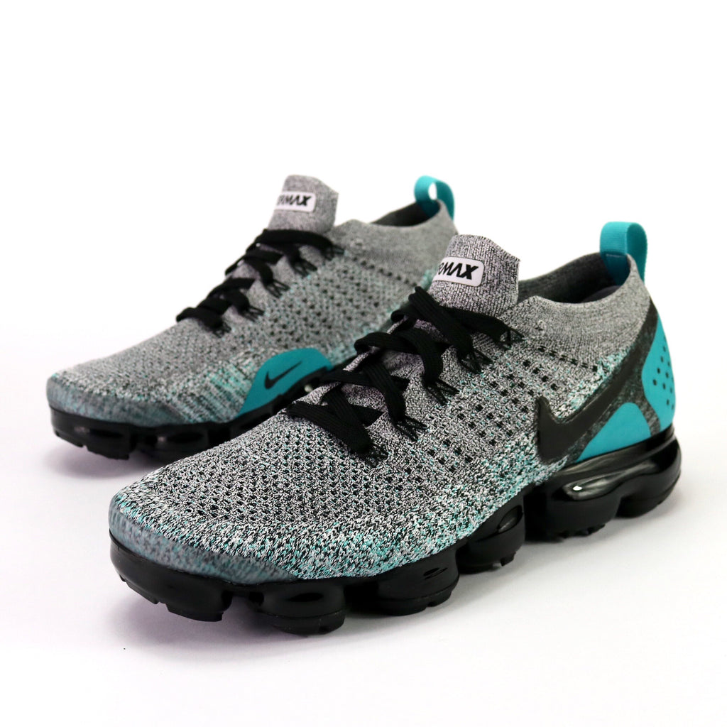 Air VaporMax Flyknit 2 White Black Dusty Cactus