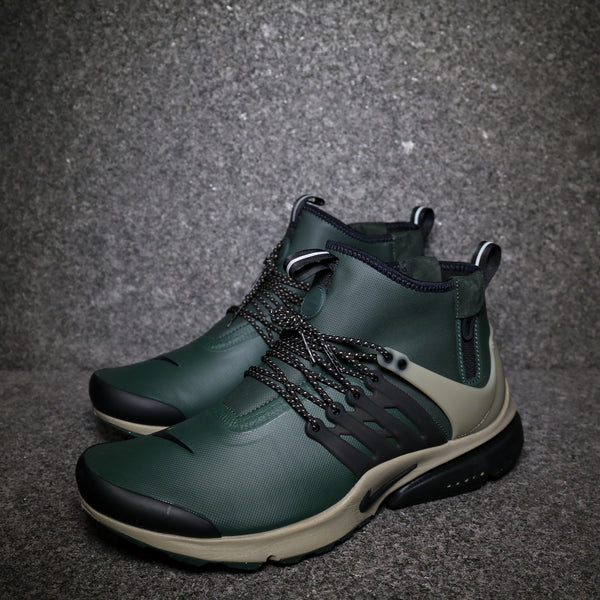 Air Presto Mid Utility Grove Green Black White