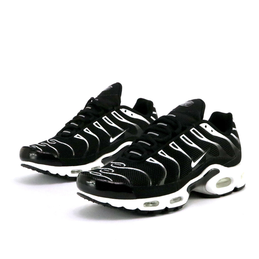 Air Max Plus Black White Black