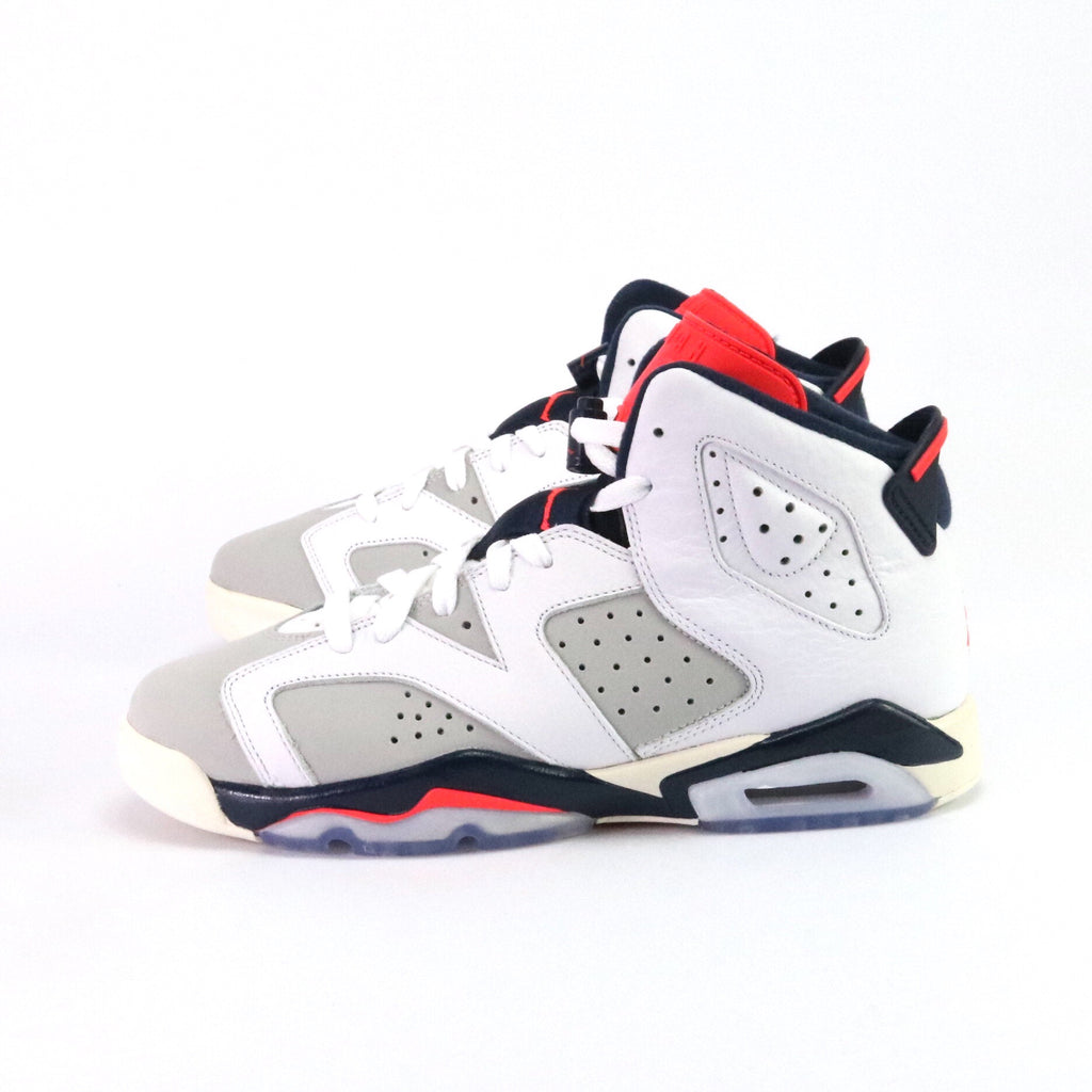 the latest 5b72e b021a Air Jordan 6 Retro GS Tinker White Infrared Neutral Grey – Sole Mate  Sneaker Boutique