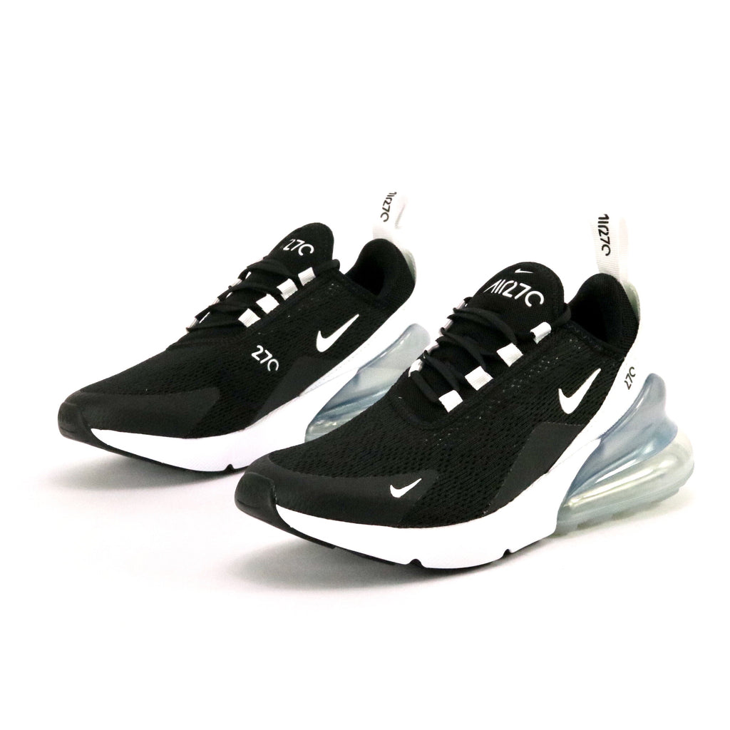 buy popular 1f2a4 1ac21 Women's Air Max 270 Black White Pure Platinum