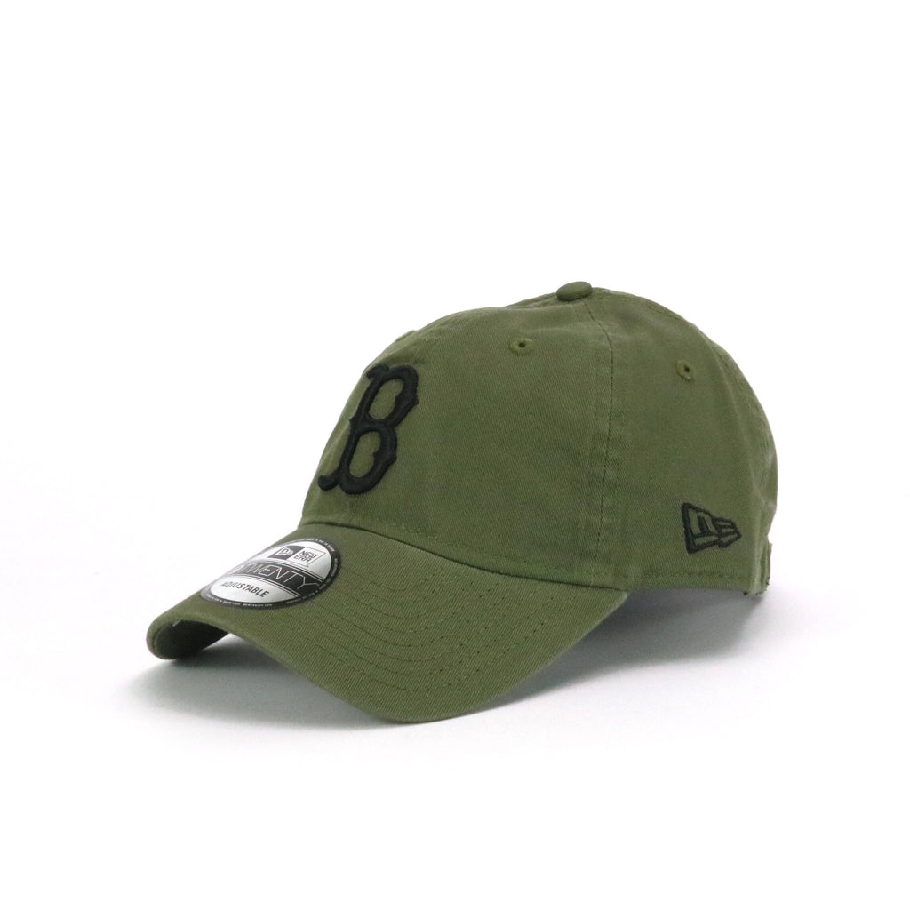 New Era 920 Boston Redsox Washed Olive