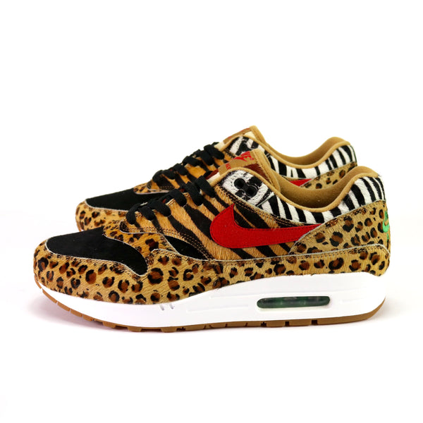 Air Max 1 'Atmos Animal Pack 2.0' Wheat Sport Red Bison