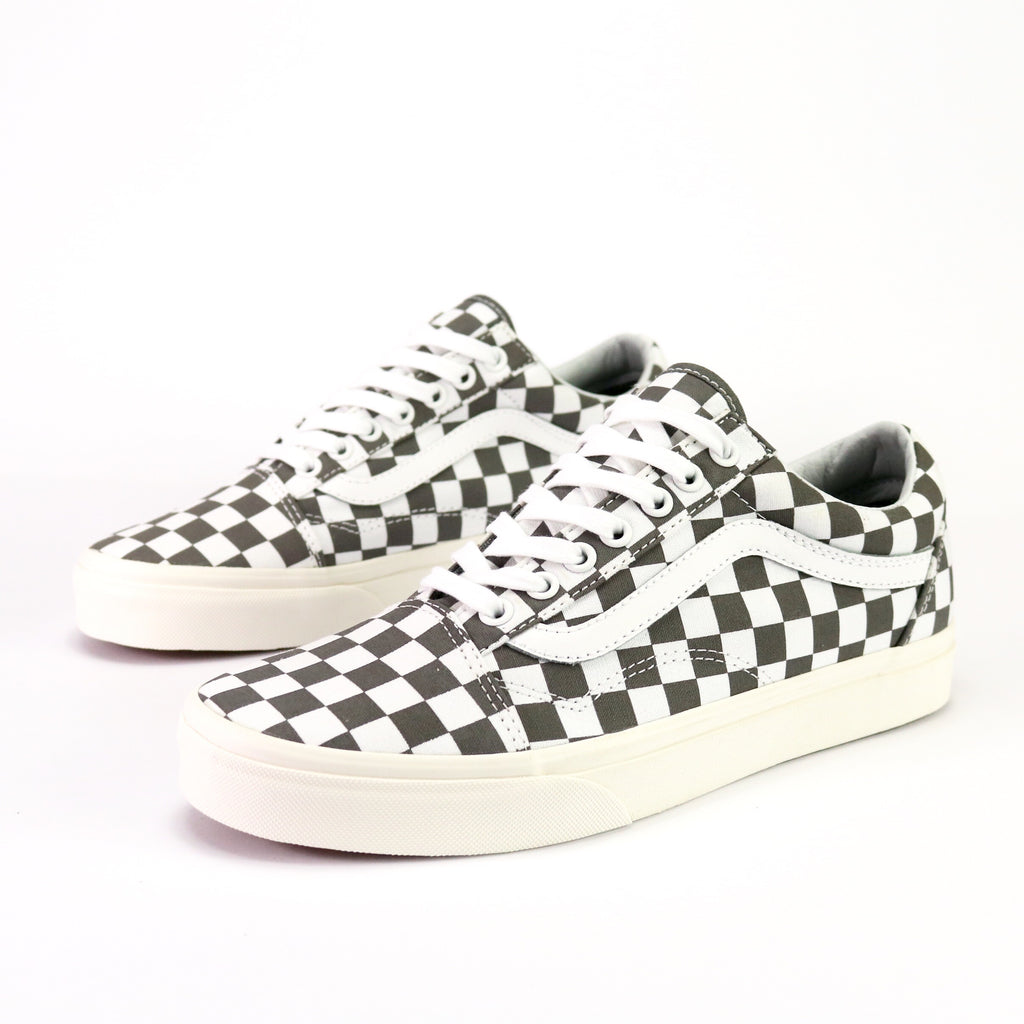 Old Skool Checkerboard Pewter Marshmellow