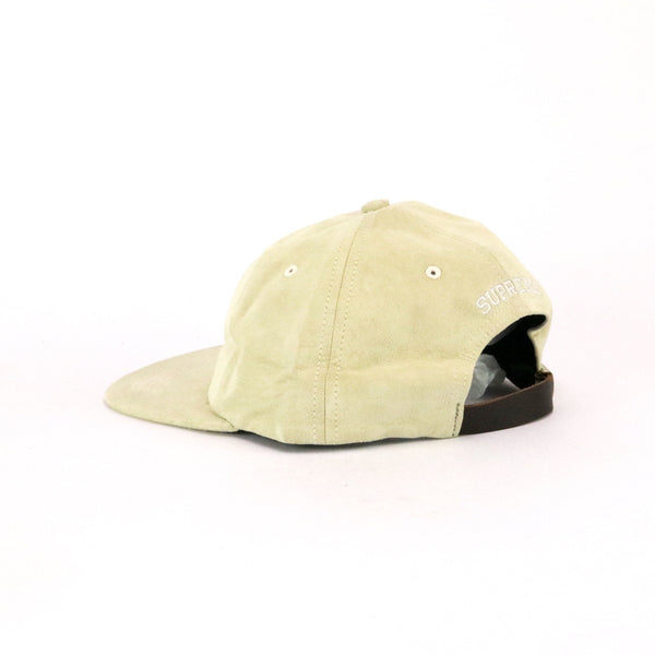 Supreme 6 Panel S Logo Suede