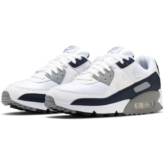 Air Max 90 White Grey Obsidian
