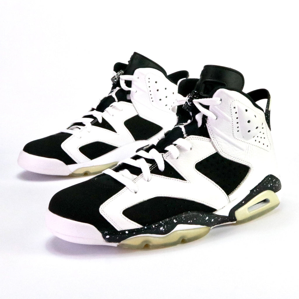 "Air Jordan 6 Retro ""Oreo"" White Black"