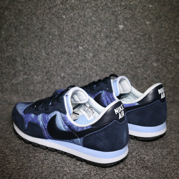 Rear View of the Air Pegasus 83 SD Persian Violet Navy at Solemate Sneakers Sydney
