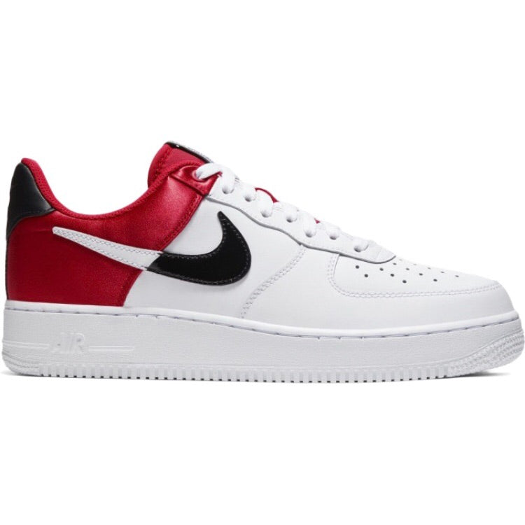 Air Force 1 Low 07 LV8 NBA Chicago Bulls White University Red Black