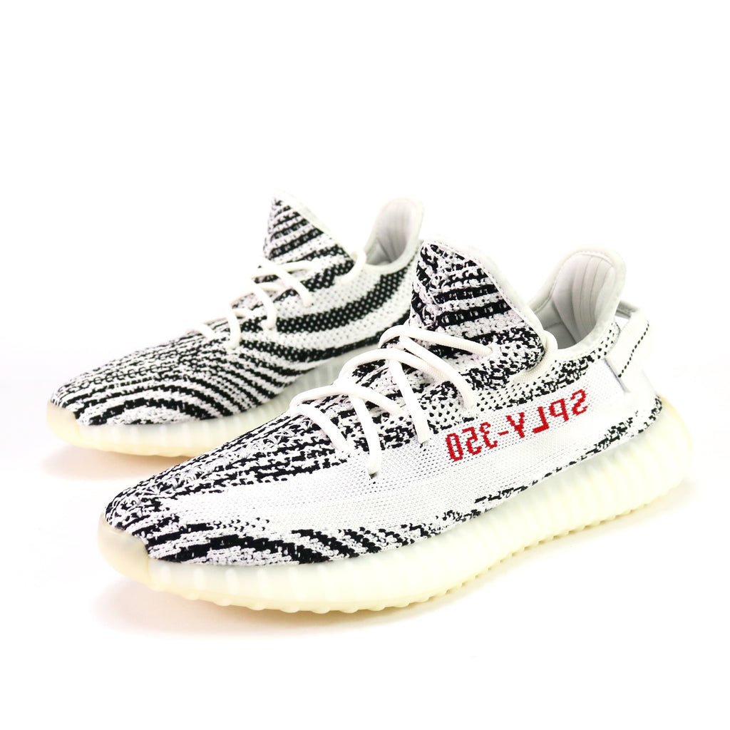 3eeb927f34838 Yeezy Boost 350 V2  Zebra  White Core Black Red – Sole Mate Sneaker Boutique
