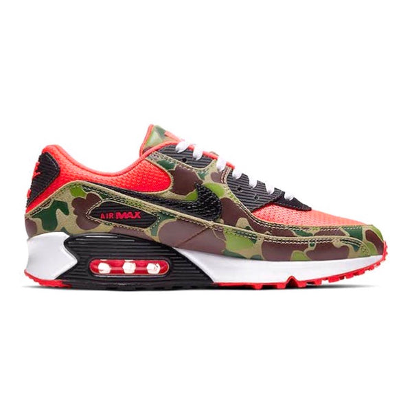 Nike Air Max 90 Reverse Duck Camo Infrared Black Baroque