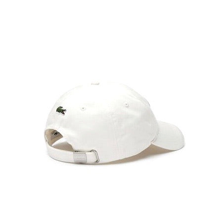 Lacoste Heritage Cotton Cap White Green