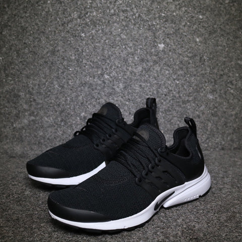 Women's Air Presto Black Black White 16