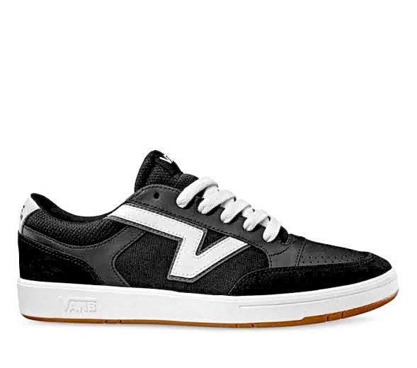 Lowland Sport Black CC White by Vans