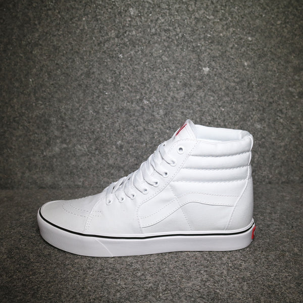 SK8-Hi Lite Canvas True White