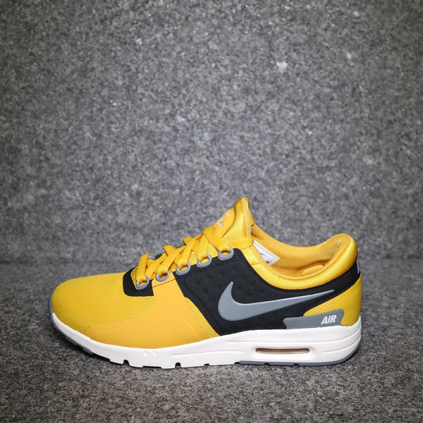 Side view of the Women s Air Max Zero Gold Dart Cool Grey at Solemate  Sneakers Sydney ... 09dcd1f698