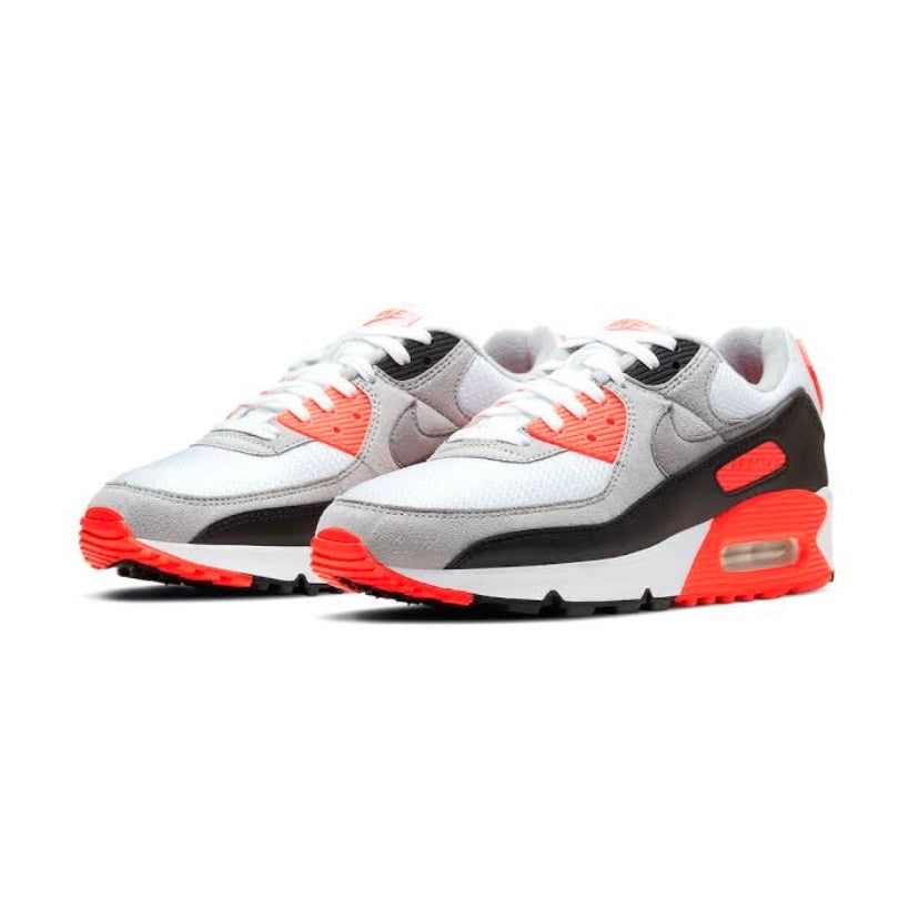 Air Max 3 Radiant Red Infrared 30th Anniversary 2020 White Black Cool Grey  90 OG