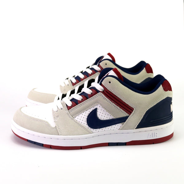 Air Force II Low SB White Blue Void Red Crush