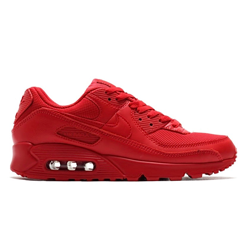 Air Max 90 Triple University Red by Nike