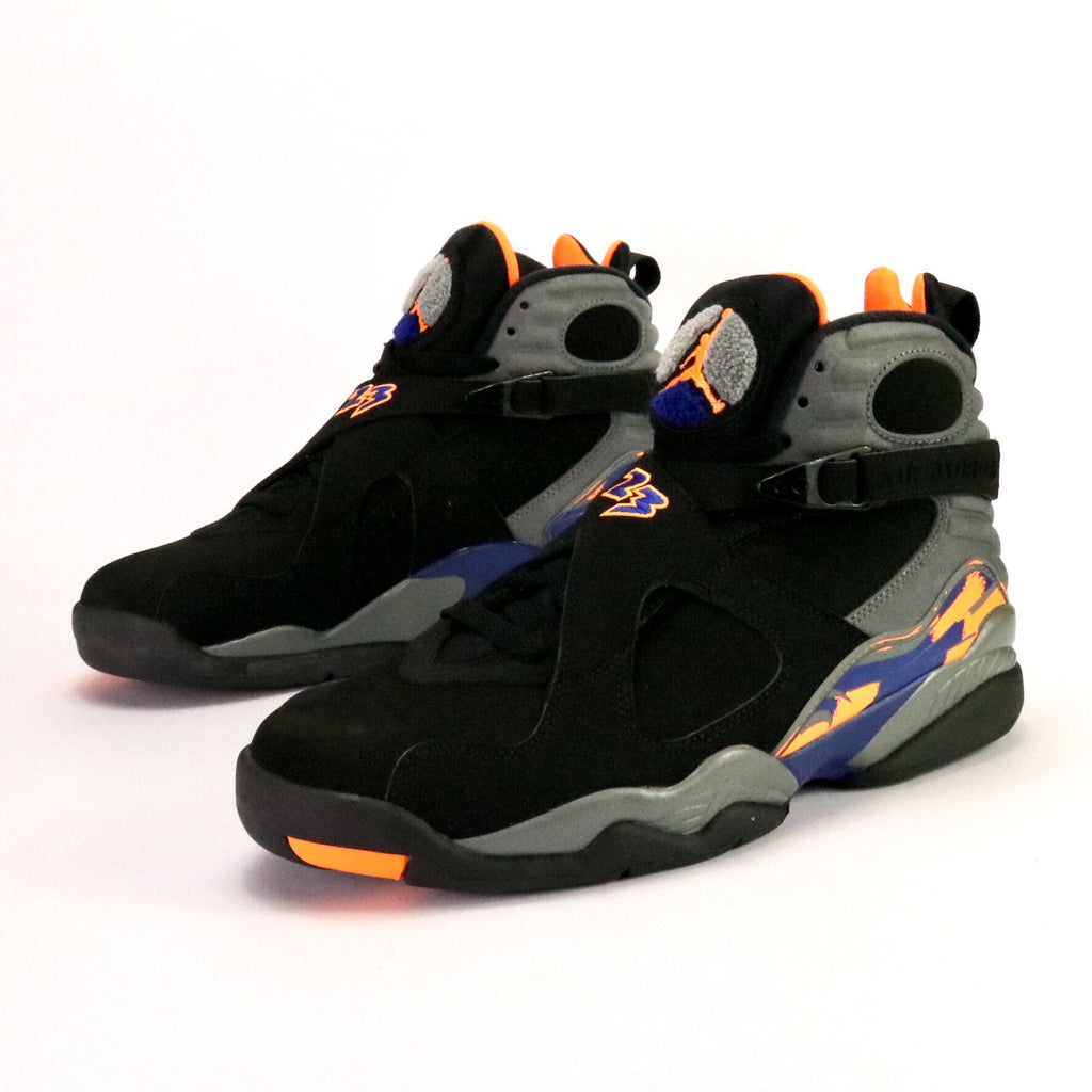 85f4817bfaec Air Jordan 8 Retro Citrus Black Court Grey Deep Royal Black – Sole Mate  Sneaker Boutique