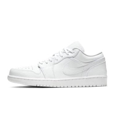Air Jordan 1 Low Triple White
