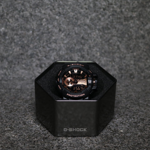 G-Shock DUO Rotary Black Bronze