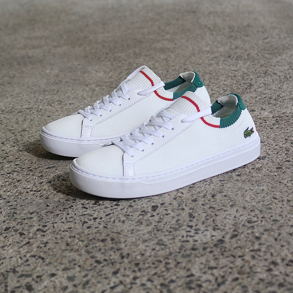Lacoste La Piquee White Red Green