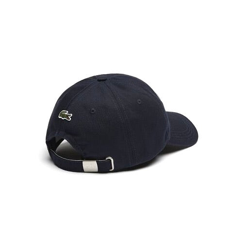 Lacoste Heritage Cotton Cap Navy White