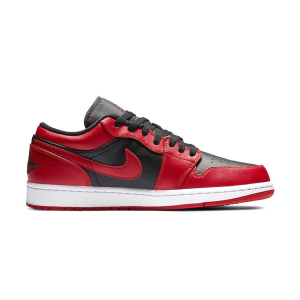 Air Jordan 1 Low Reverse Bred White Black
