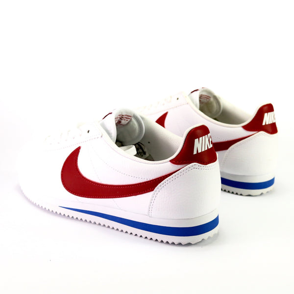 Women's Classic Cortez Leather White Varsity Red