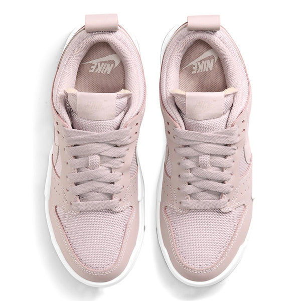 Womens Dunk Low Disrupt Pink White