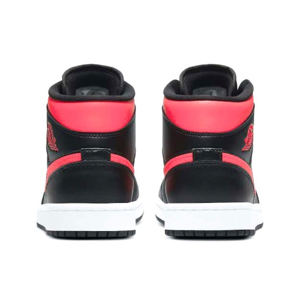 Air Jordan 1 Mid Black Siren Red (W)
