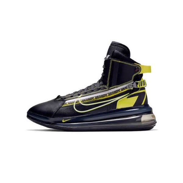 Air Max 720 Saturn All Star Motorsport QS Black Dynamic Yellow