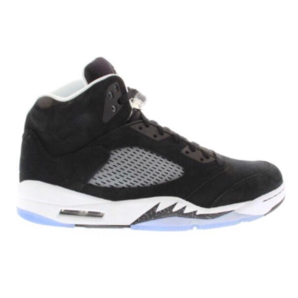 "Air Jordan 5 Retro ""Oreo"" Black Black White"