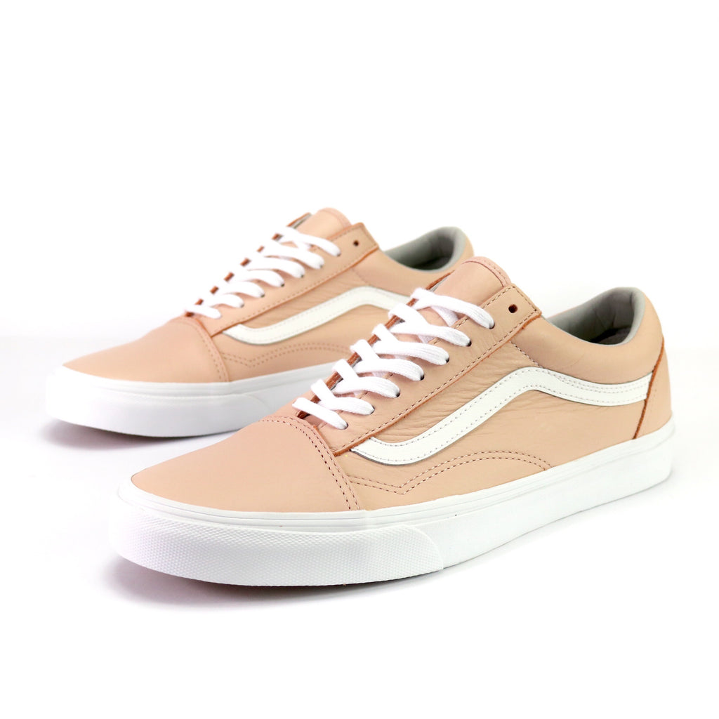 Old Skool Leather Oxford Evening Sand