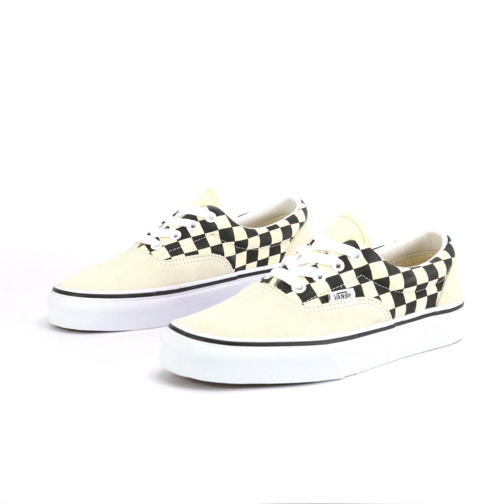 Era Primary Checkerboard Black Marshmellow White