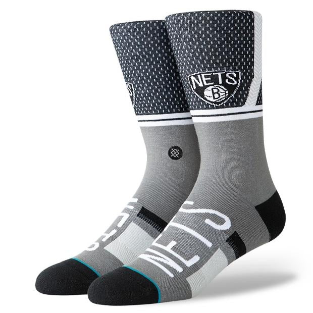 Stance x NBA Brooklyn Nets Team colour