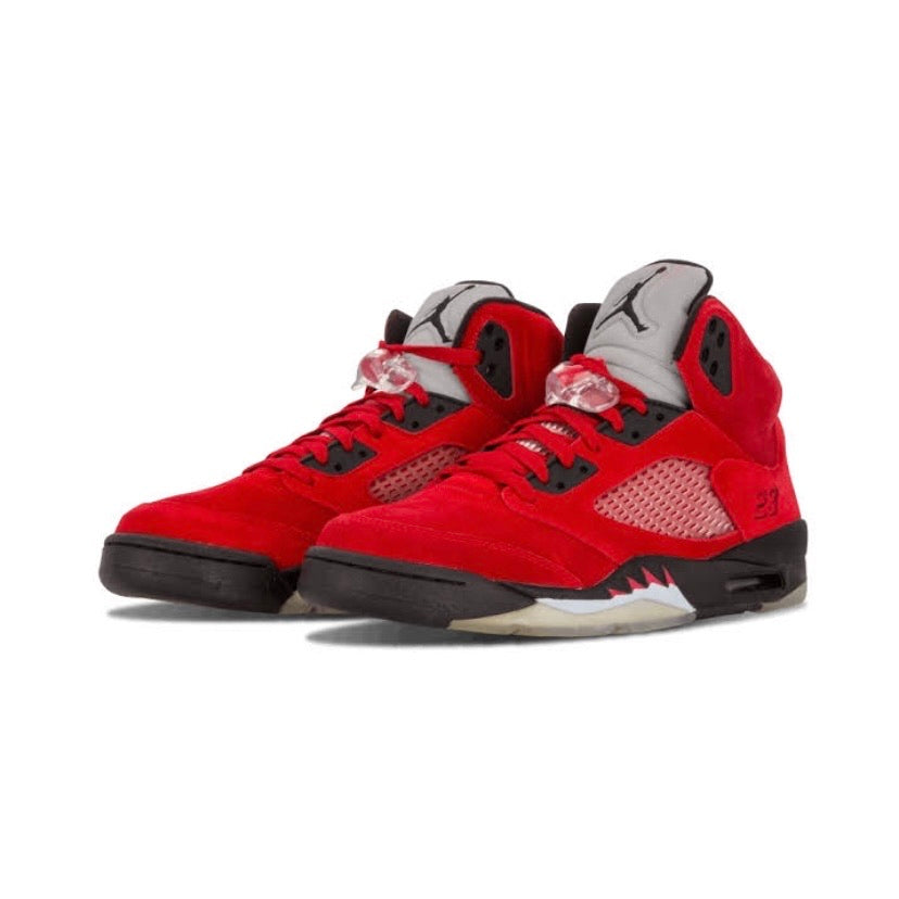 Air Jordan 5 Retro DMP Raging Bull Red Suede