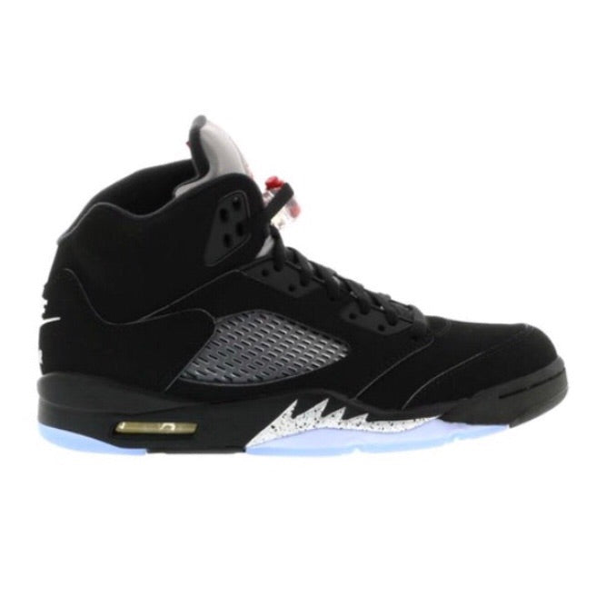Air Jordan 5 Retro OG 2016 Black Fire Red Metallic Silver White