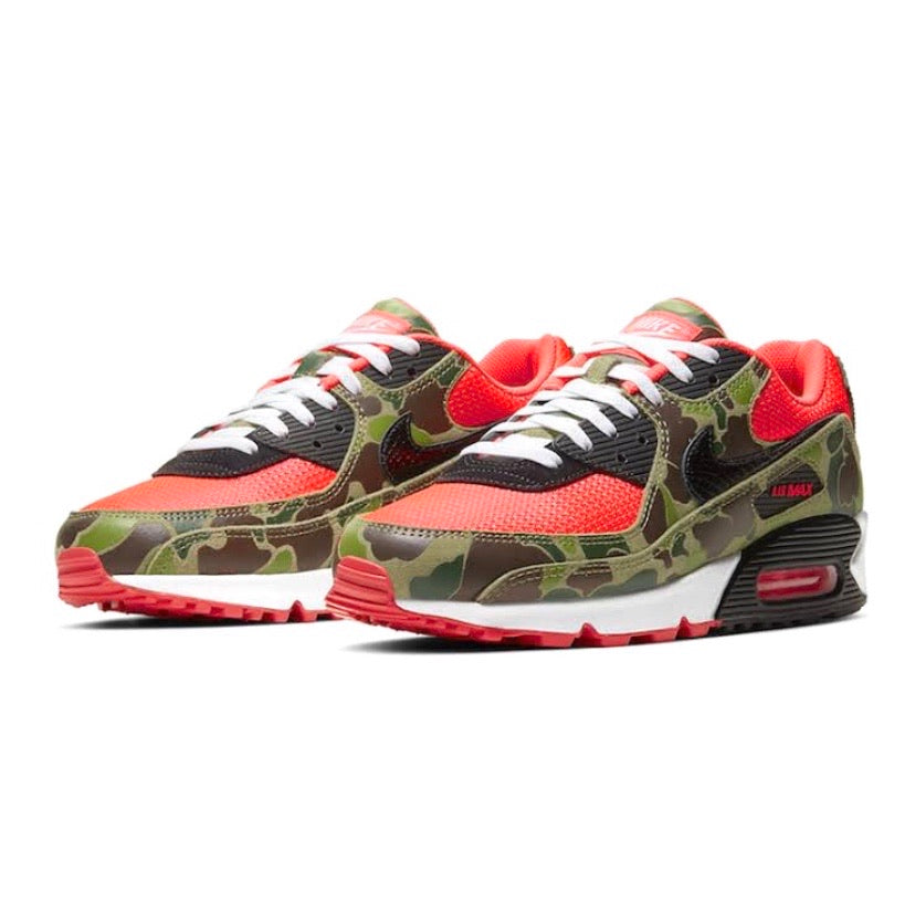 Air Max 90 Reverse Duck Camo Infrared Black Baroque by Nike
