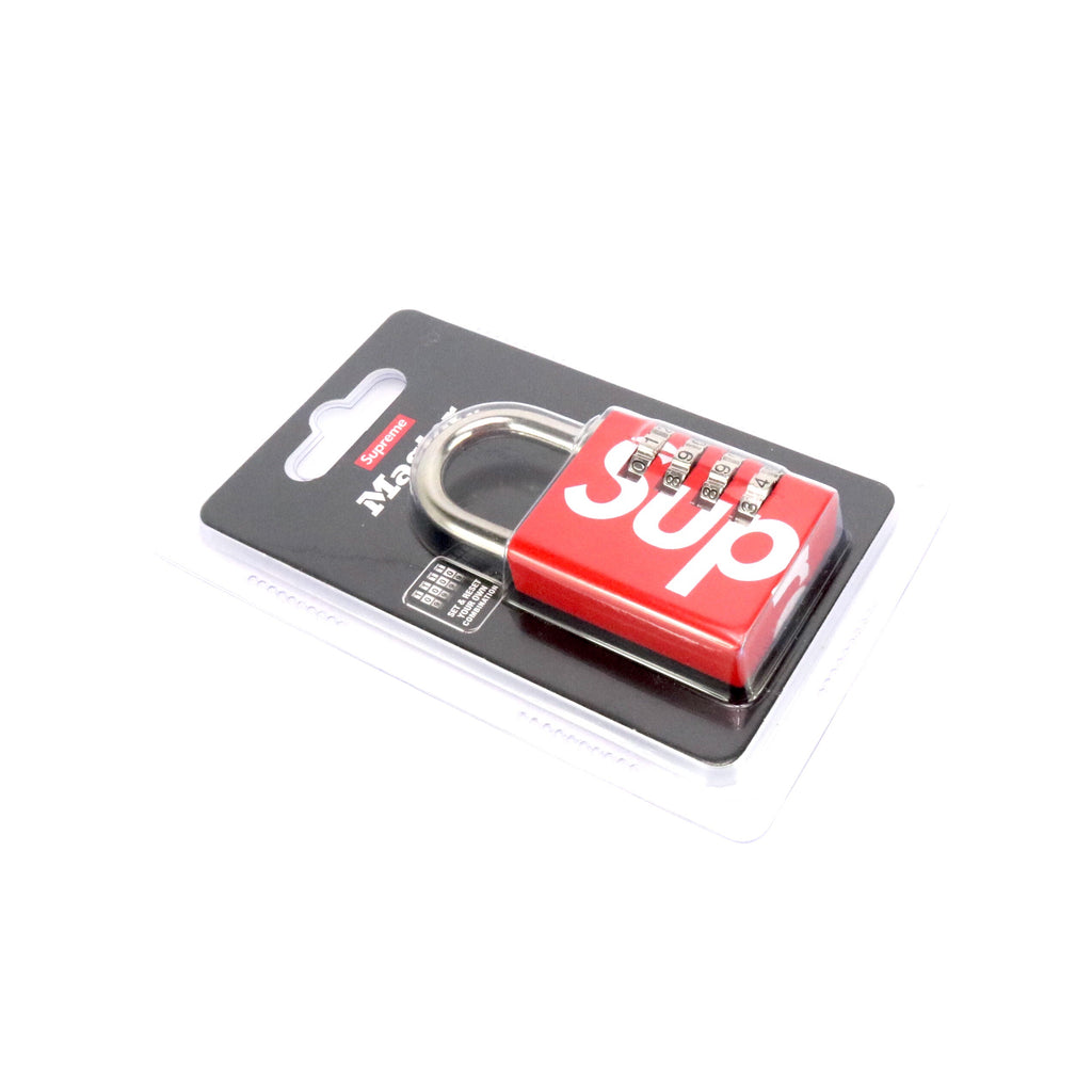 Supreme Master Lock Red White