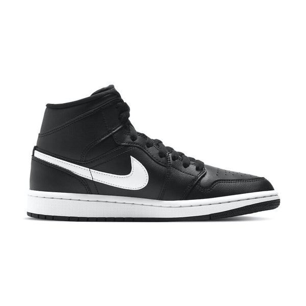 Air Jordan 1 Mid Black White (W)