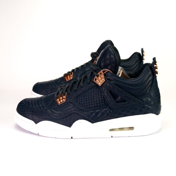 Air Jordan 4 Retro Premium Obsidian White Bronze