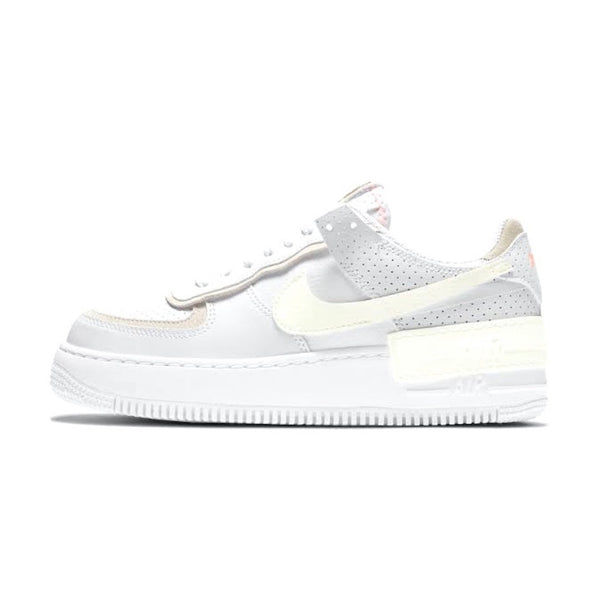 Women's Air Force 1 Shadow White Sail Stone Atomic Pink