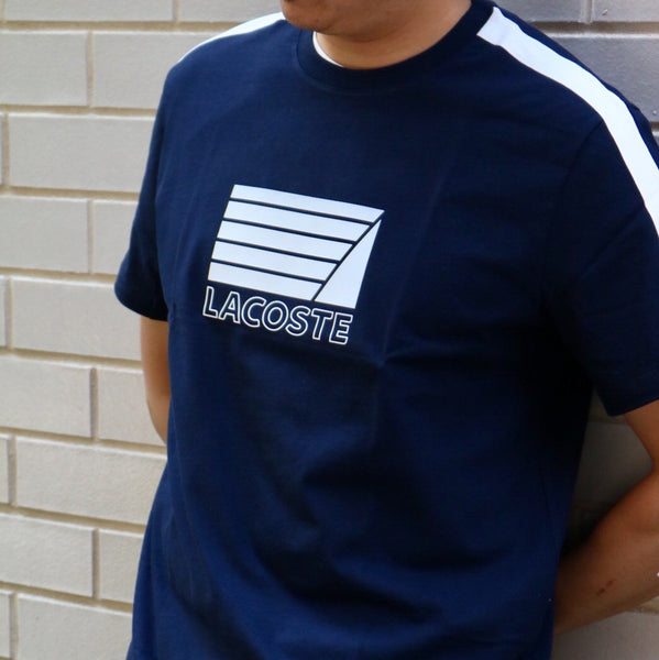 Lacoste Jersey Nautical Tee Navy