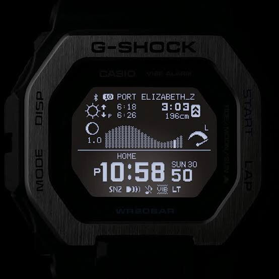 G-Glide White Black Silver Digital by Casio G-Shock