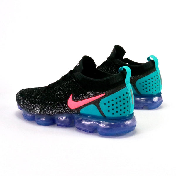 Air Vapormax Flyknit 2 Black Hot Punch White
