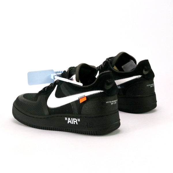 OFF-WHITE x Nike The Ten: Air Force 1 Low Black White Cone Black