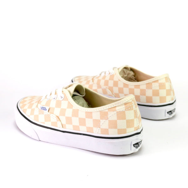 Authentic Checkerboard Apricot