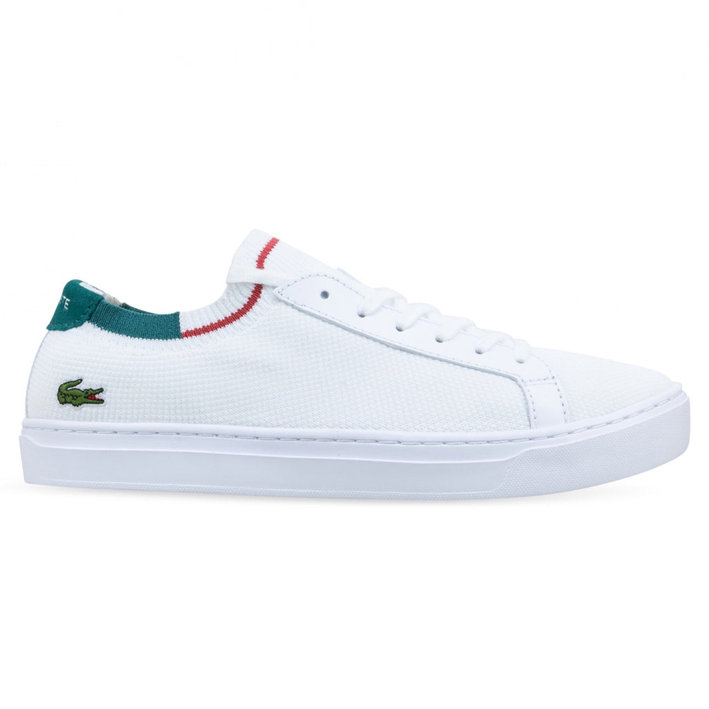 Women's Lacoste La Piquee White Red Green